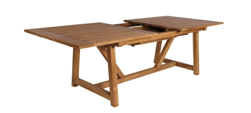 Pair the Samui collection with our Nassau Teak extendable dining table