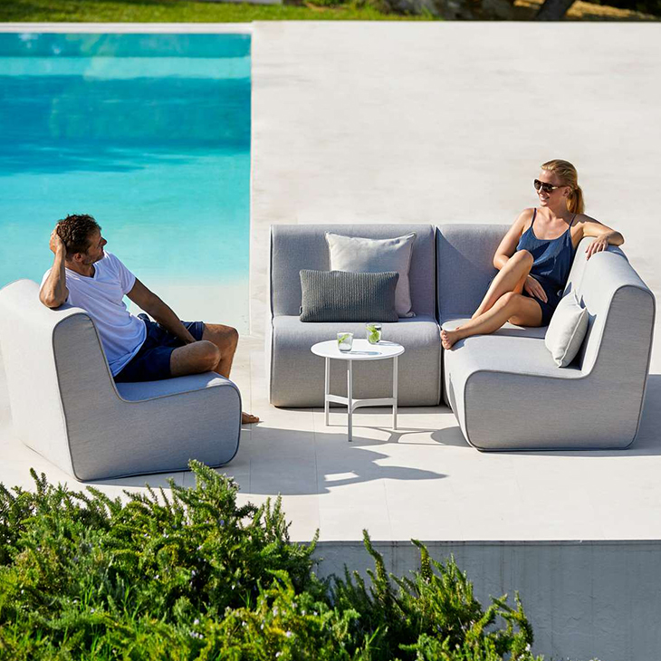 NEW Foam Lounge Collection   Flexible and modular.   Click to shop this collection.