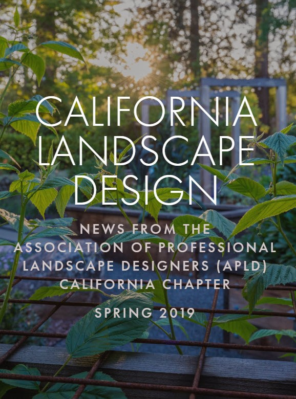 Our Contemporary Garden and Modern Farmhouse designs featured in California Landscape Design Spring 2019 magazine.