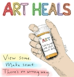 Art Heals by Kristin Noelle