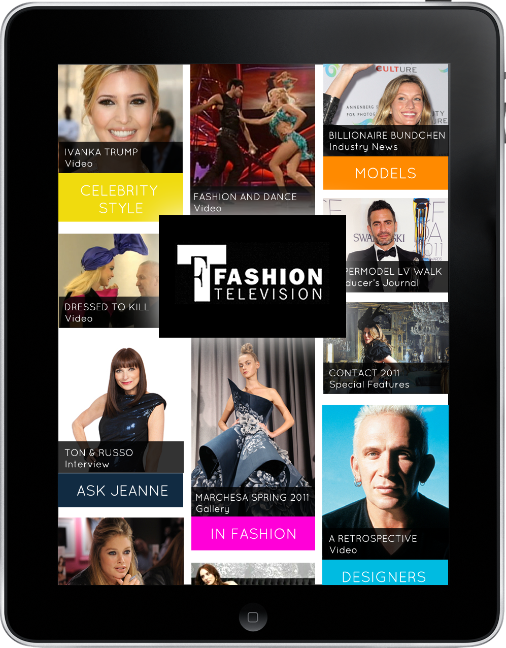 Fashion Television for iPad