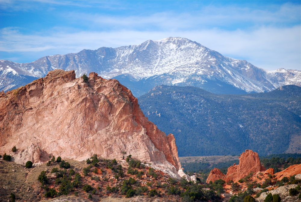 Visit Garden of the Gods and take in amazing views in the peaceful landscape.