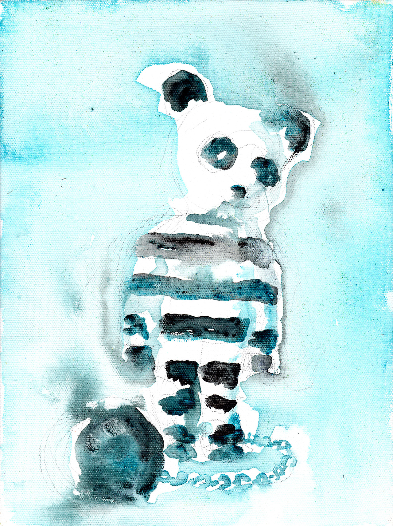 9/12/13 -  Sad Panda.    I imagine prison would make a panda pretty sad.    Buy it here -  http://taylorwinder.bigcartel.com    Prints of it here -  http://society6.com/taylorwinder