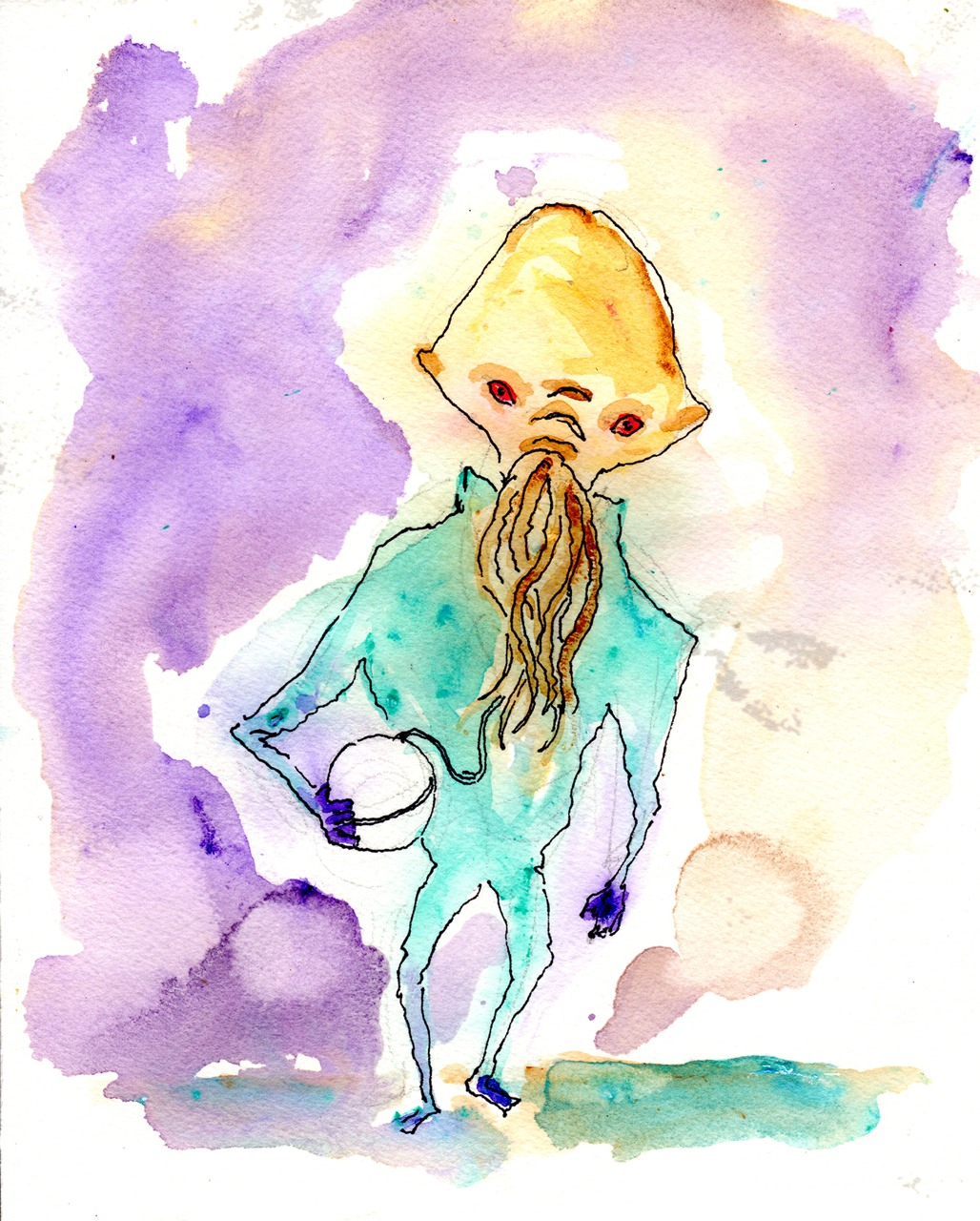 10/13/13 - Ood Doodle.     An early one today. I have got a bit of football to watch. So, yeah. Go Ood!     Available at all the usual places.