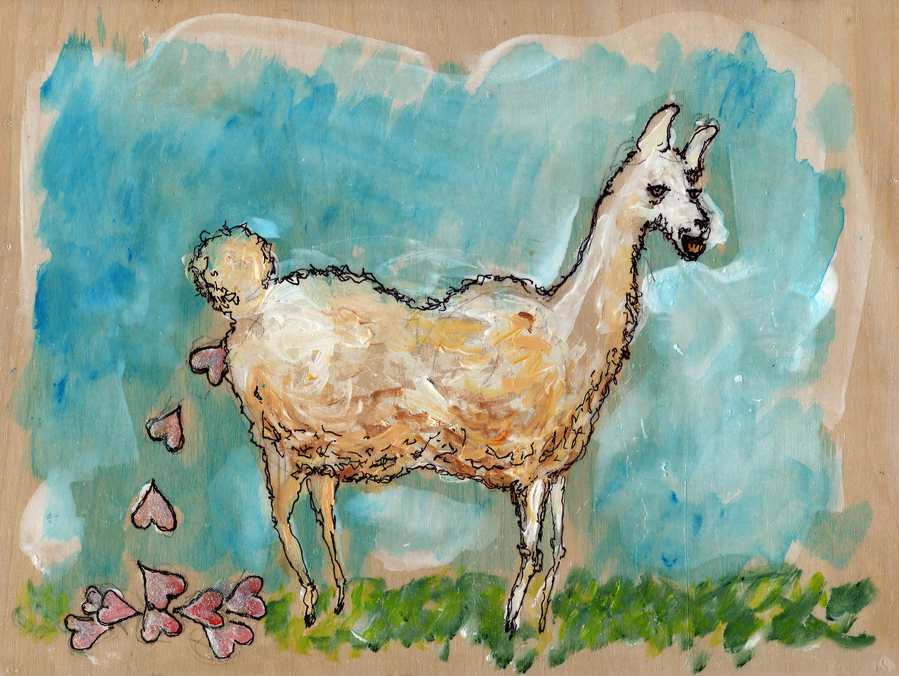10/25/13 -  What Llamas Poop.    Llamas are strange, mythical beasts. If they did exist I'm pretty sure this is what they would poop.   Buy it here -  http://taylorwinder.bigcartel.com    Prints here -  http://society6.com/taylorwinder