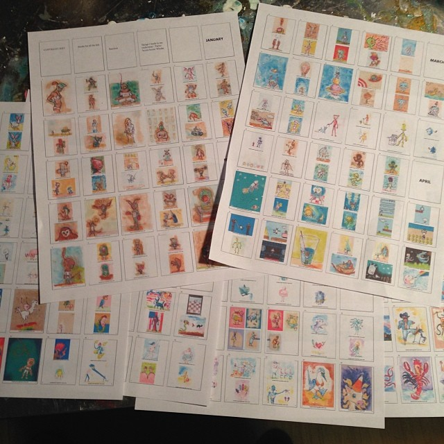 #book #layouts. Things I Made In My Underwear.