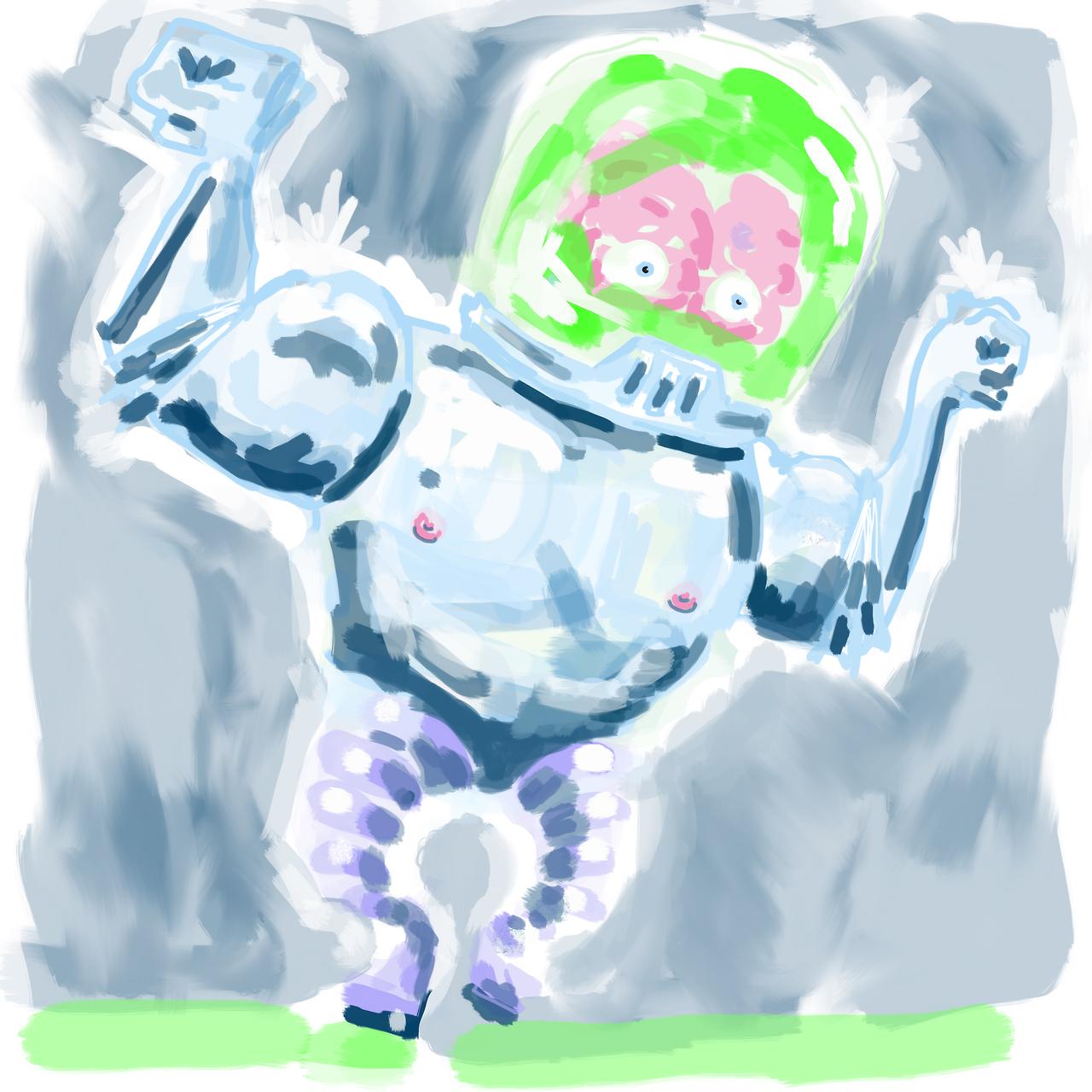 Brawny Brainbot