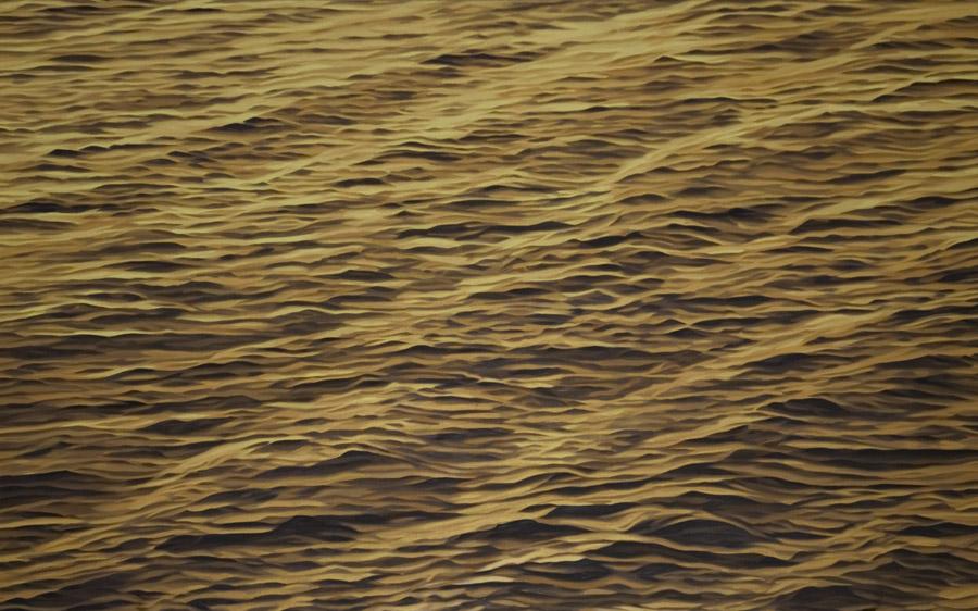 "Twelve (rhythm), 2002, oil on linen, 30 x 48"""