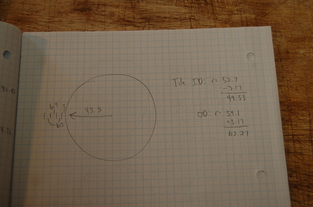 Some quick circle math.