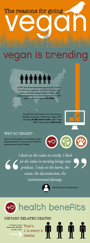 The Reasons For Going Vegan