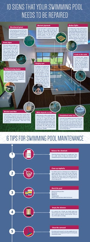 10 Signs That Your Swimming Pool Needs To Be Repaired