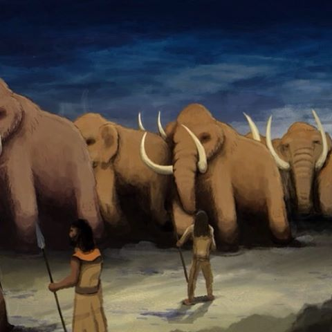 The Mammoth March - a screen capture from our upcoming #animated #explainer #video.