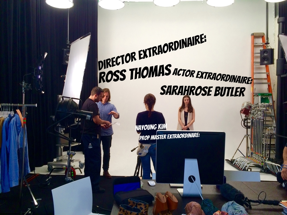 Director Ross Thomas, Actor SarahRose Butler & Prop Master Nayoung Kim