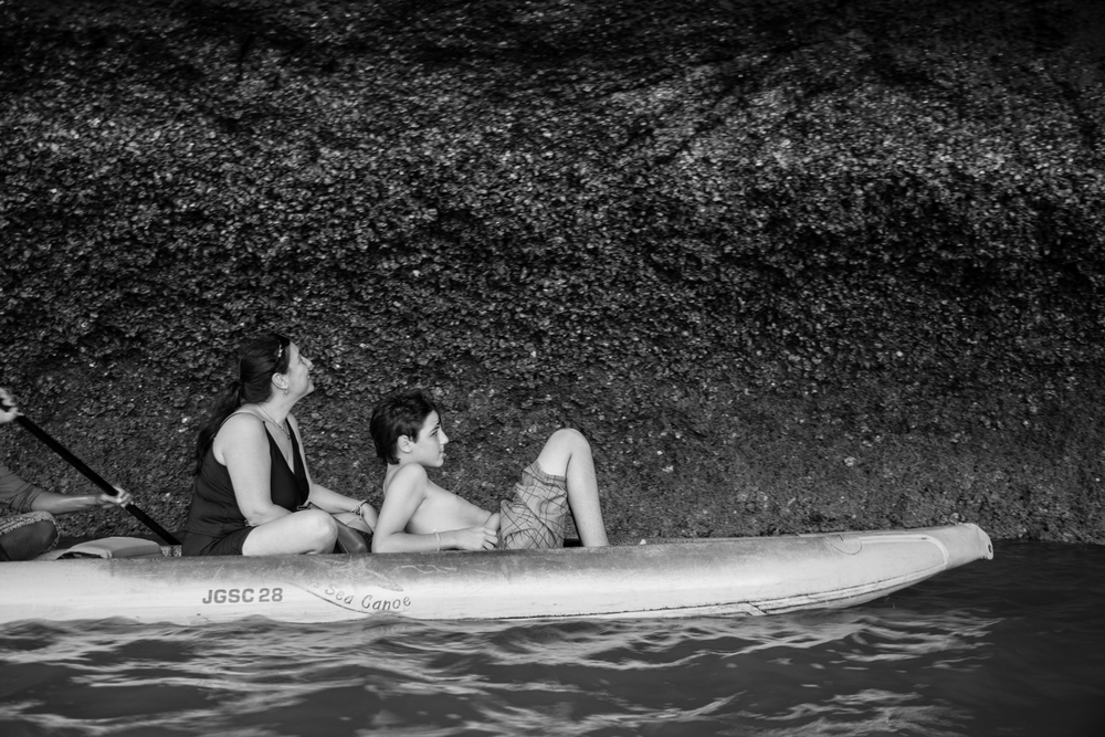 BW Mom & son raft-1.jpg