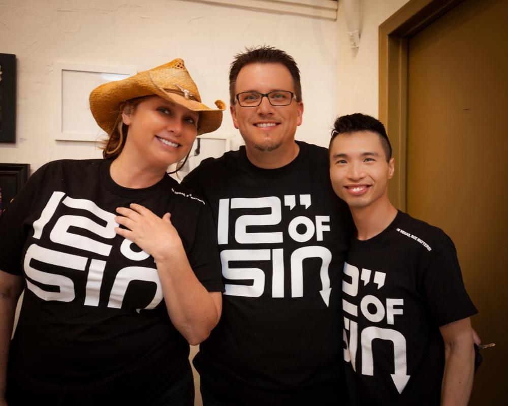 Dr. Laura Henkel, Will Shea, Patrick Lai
