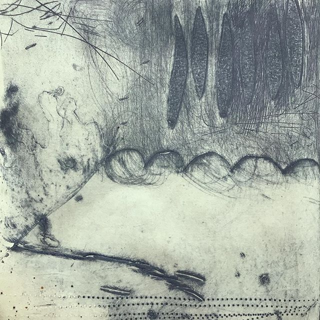 WHY do I always forget how much I love collograph!? #collograph #printmaking