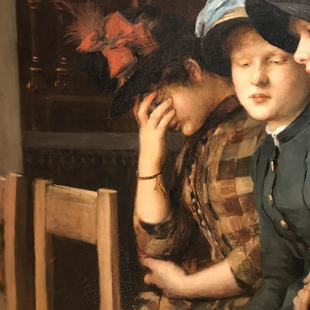 "#currentmood - one of my favorite ladies in the amazing ""Women in the Age of Impressionism"" exhibition we have up at the Speed right now."