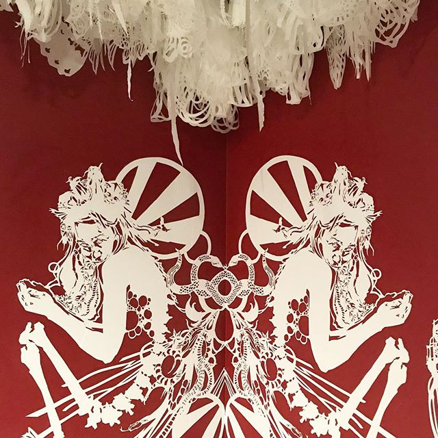 Finally squeaked in to see the Swoon show at the CAC before it closes tomorrow.