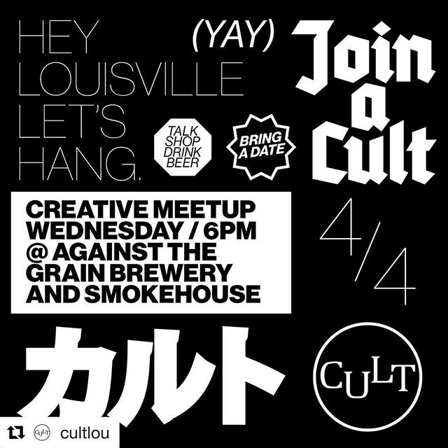 NEXT WEEK NEXT WEEK NEXT WEEK! Come out and be social with @cultlou and let's all cross our fingers and hope it finally stops raining.