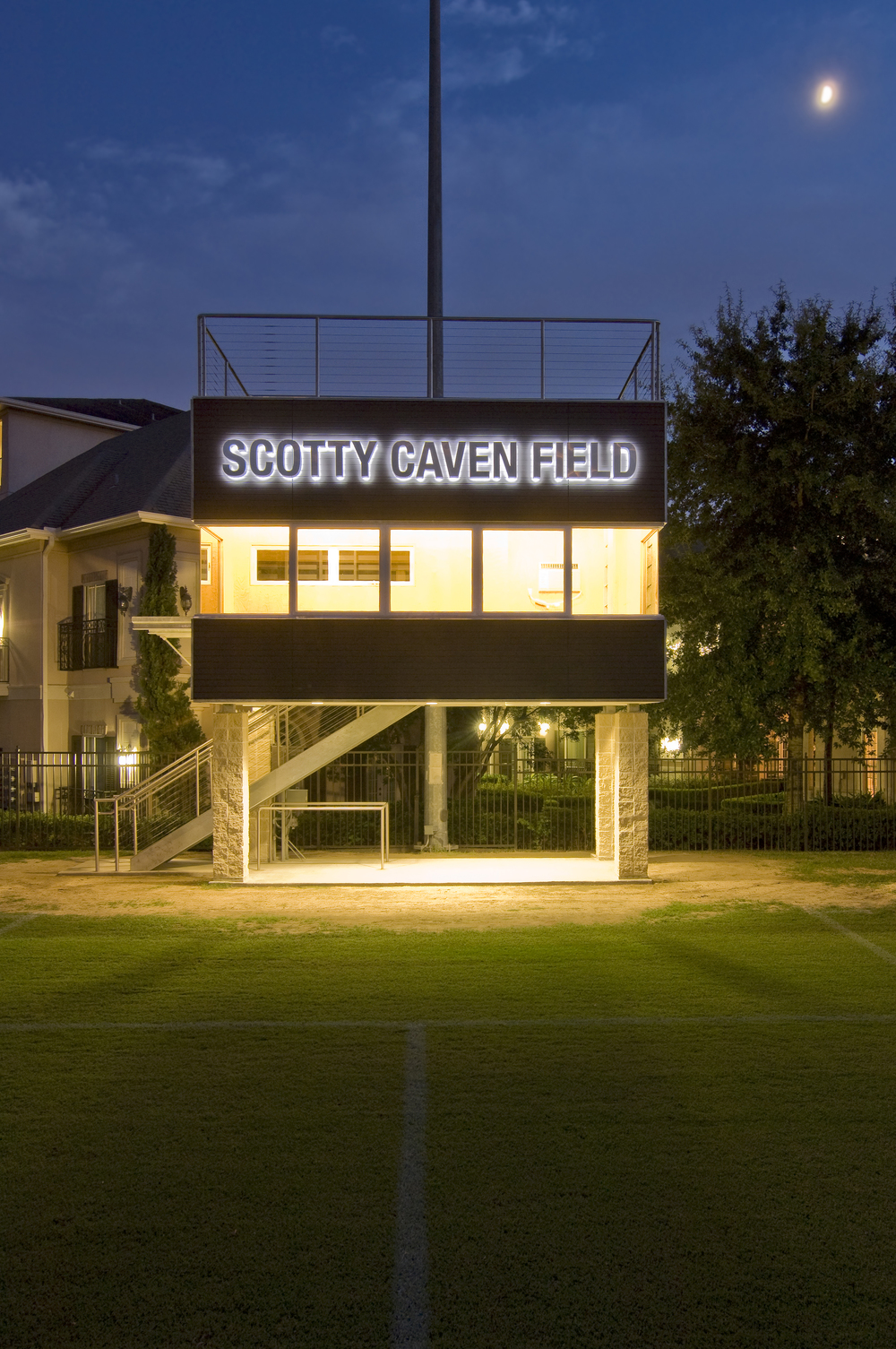Scotty Caven Press Box