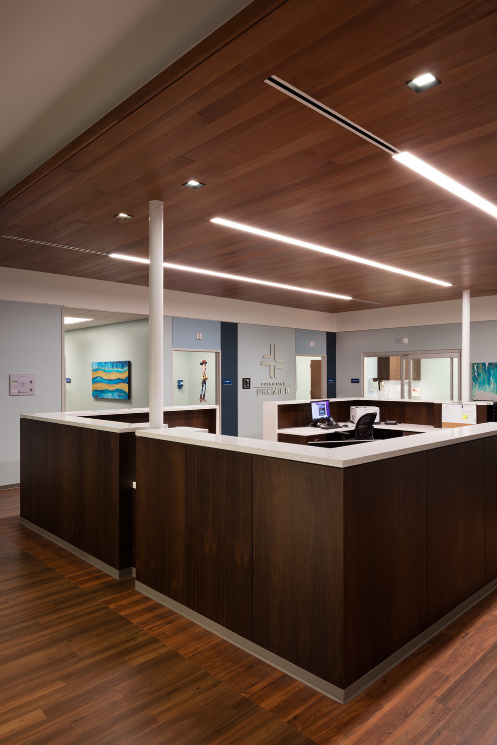 1343 / PHYSICIANS PREMIER, PORTLAND, TX / m ARCHITECTS