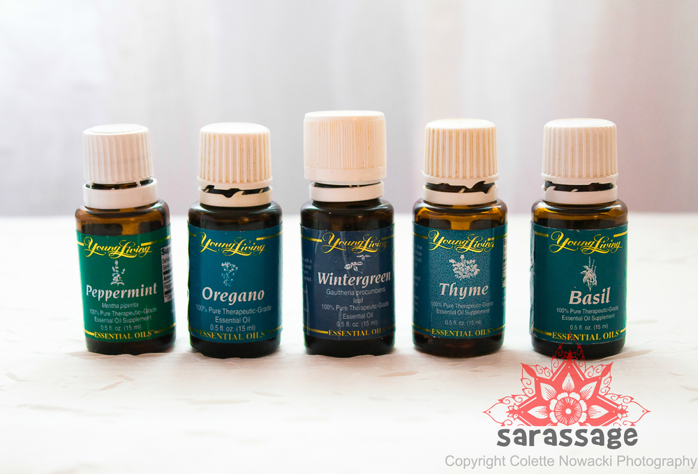 Raindrop Technique    +$15   Amazing application of 9 therapeutic-grade, organic essential oils to re-balance and reorganize the muscles along the spine. These oils have been scientifically researched and proven to stimulate the immune system, decrease muscle fatigue/stiffness, promote circulation and much more. Essential oils are layered along the spine and the spinal reflex areas of the feet. This technique can be received as a sole application of oils in 30-minutes. It can also be combined with a partial/full-body massage in 60/90/120 minute sessions.