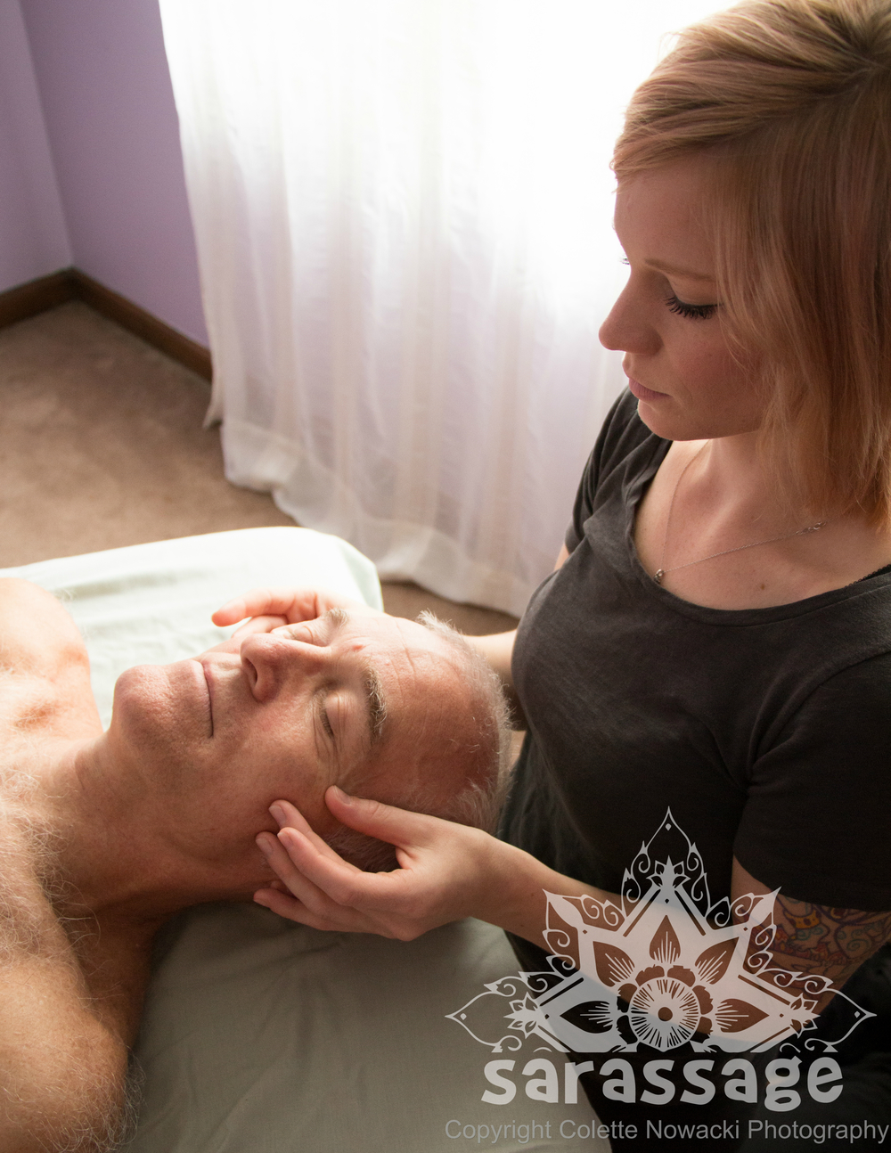 Craniosacral Work   A gentle form of bodywork that uses subtle touch and connects with the nervous system to help release deeply-held tension and restore function throughout the body. Especially helpful for those suffering from headaches, migraines, insomnia, anxiety and depression.