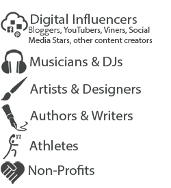INFLUENCERS - Are you a person, group or organization with a passionate following? Monetize your reach, build your personal brand and engage your fans through WeBRAND. Click toLEARN MORE
