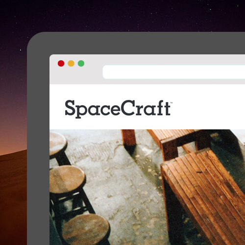 Clients with SpaceCraft<br/>[Web Design + Dev]