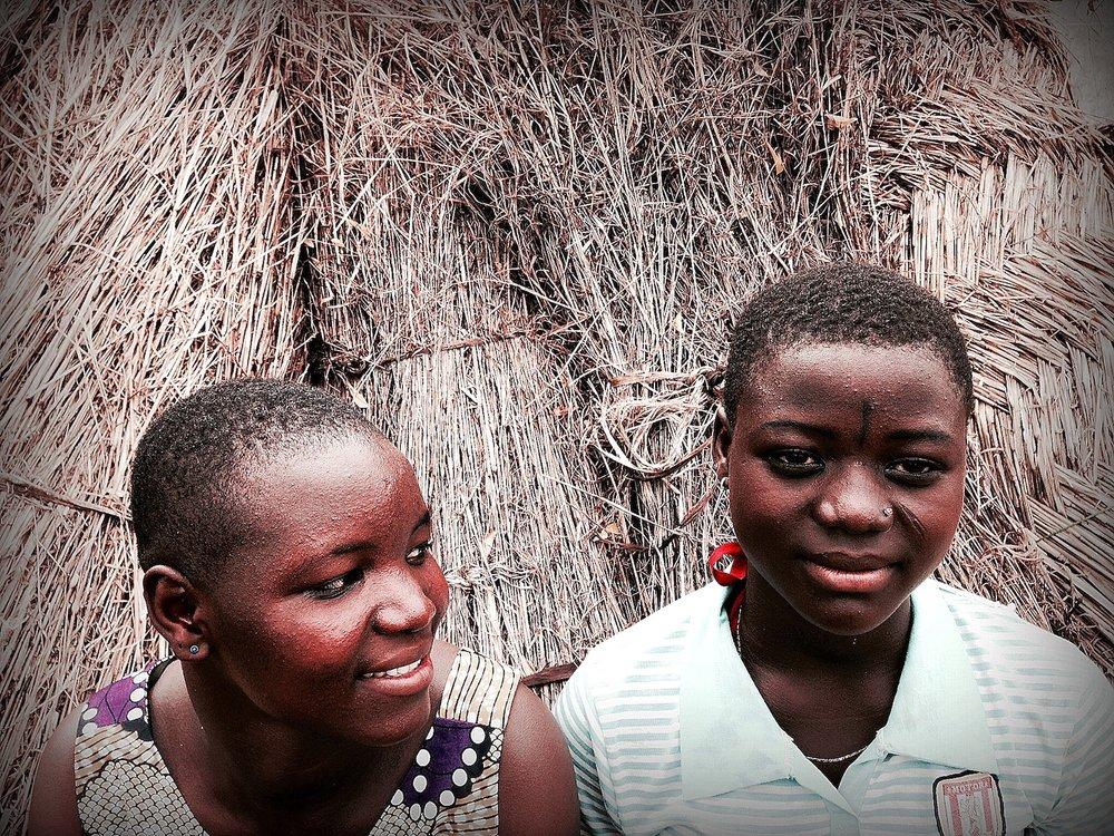 Waliya (left)