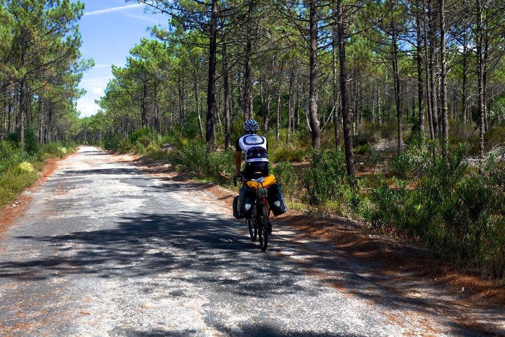 Keagan, endlessly pedaling.