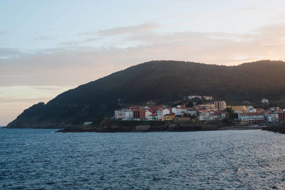 The end of the world, the town of Finisterre, Spain.