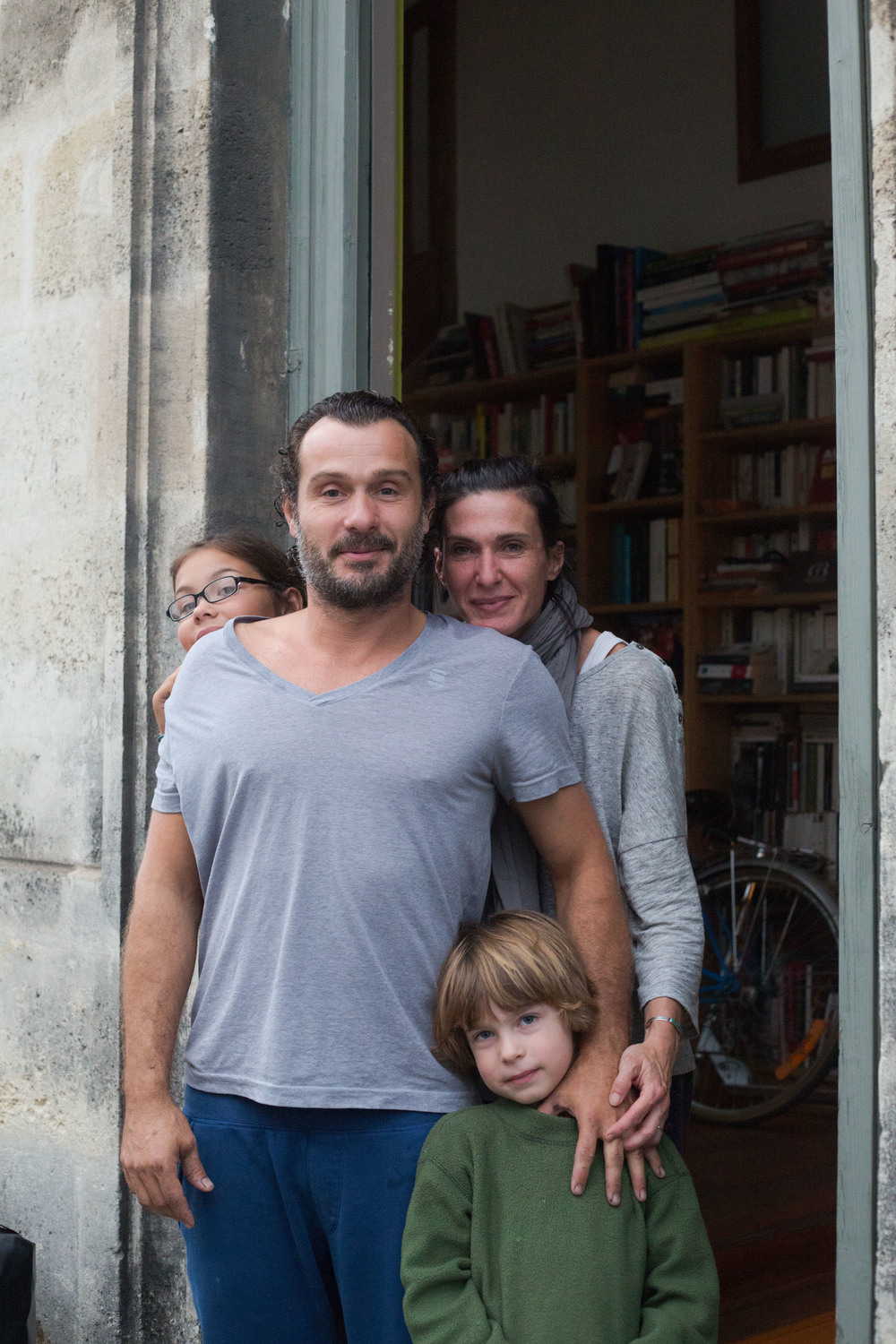 Our wonderful family in Bordeaux.