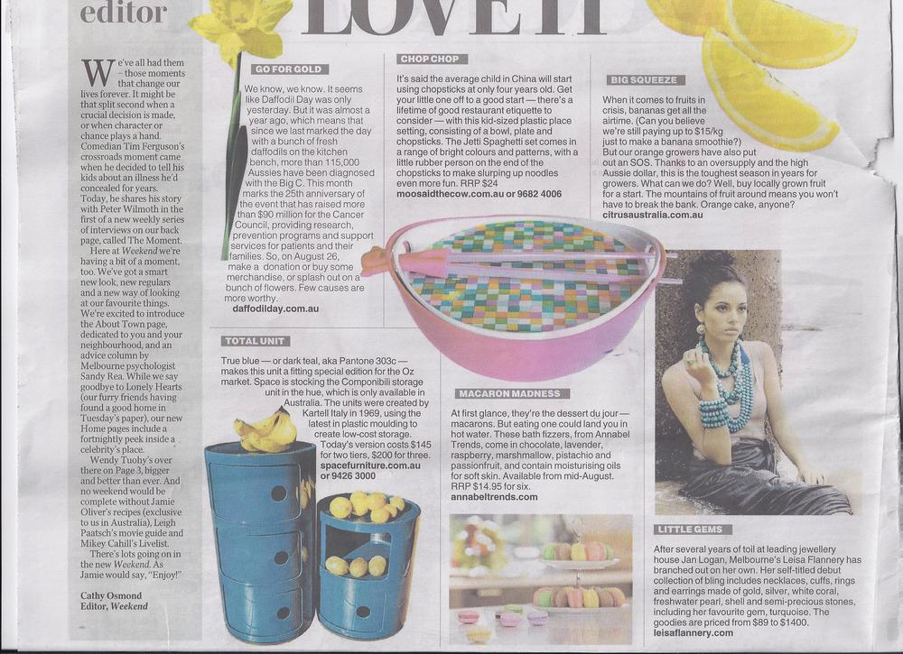Herald Sun Love it 6th Aug 11.jpg