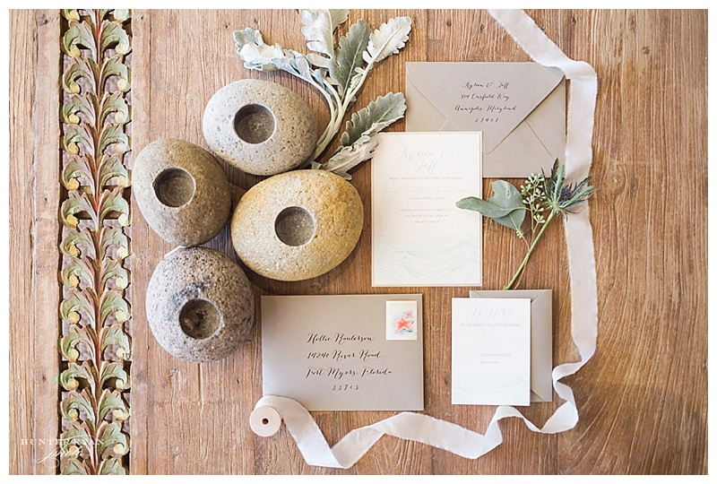 Sea glass chic wedding - hunter ryan photography - south seas wedding