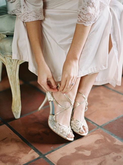 Elleson Events | Ancient Spanish Monastery Miami FL | Wedding Inspiration | Simply Sarah Photography | Bella Bell Shoes
