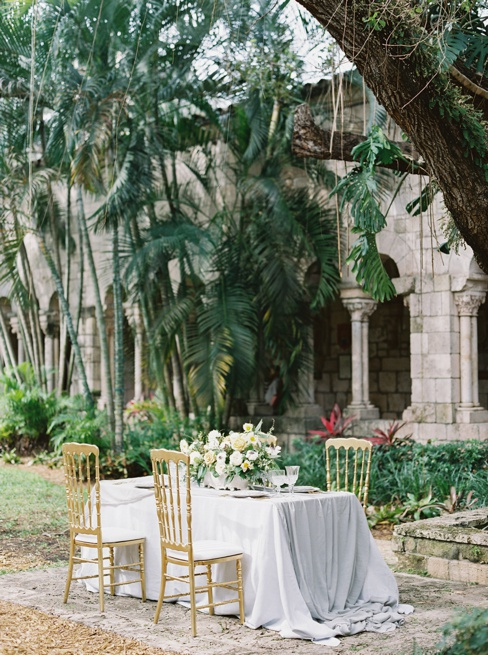 Elleson Events | Ancient Spanish Monastery Miami FL | Wedding Inspiration | Simply Sarah Photography | Sweet Southern Charm Rentals | Bubble Miami