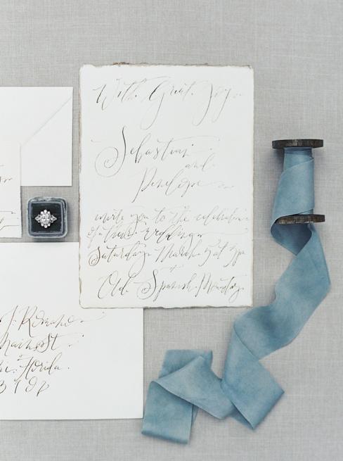 Elleson Events | Ancient Spanish Monastery Miami FL | Wedding Inspiration | Simply Sarah Photography | Fig & Flourish Calligraphy