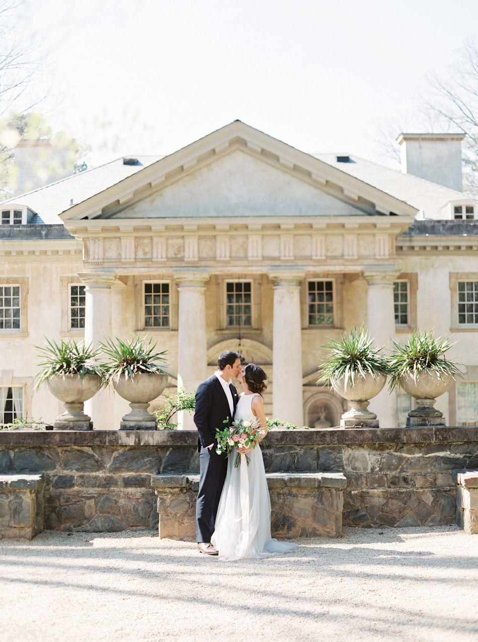 Luxury Engagement | The Swan House | Atlanta, Georgia | Spring Wedding Inspiration | Elleson Events | Simply Sarah Photography