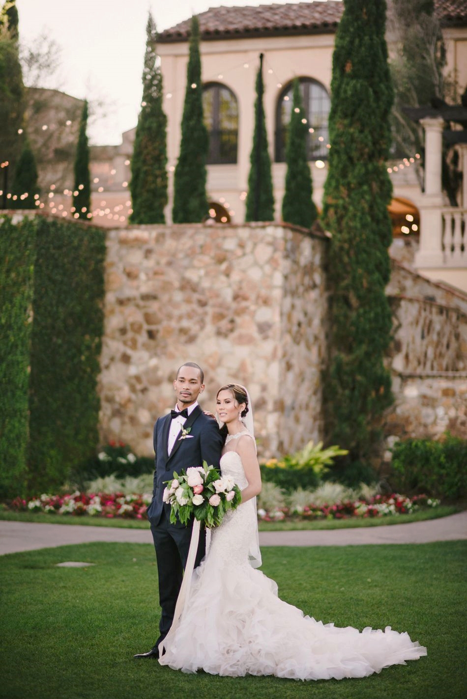 intimate luxury destination wedding bella collina club orlando wedding planner grey blush wedding