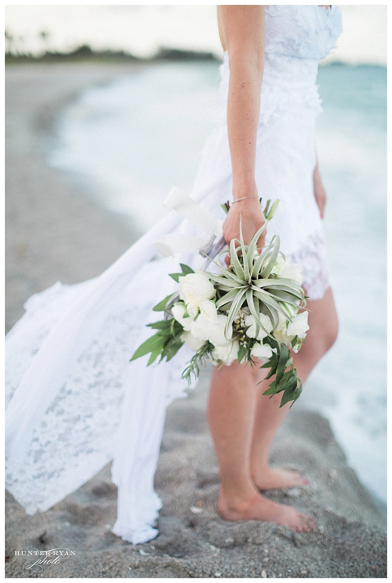 Beach Elopement | South Seas Resort | Sunrise Boho Ceremony | Hunter Ryan Photo