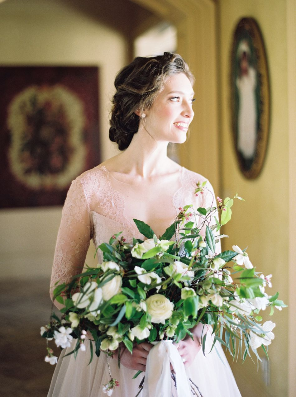 Ethereal Bridal Portraits | Farm At High Shoals | Tuscan Inspired Wedding | Simply Sarah Photography | Elleson Events