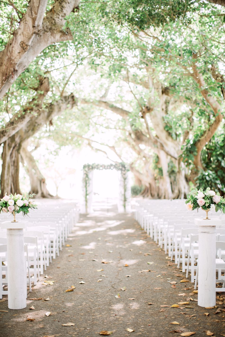 Blush and White Garden Inspired Wedding | Gasparilla Inn Boca Grande, Florida