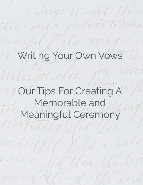 Wedding planning tips writing your own wedding vows junglespirit