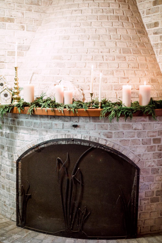 Glen Gerry handmade brick fireplace
