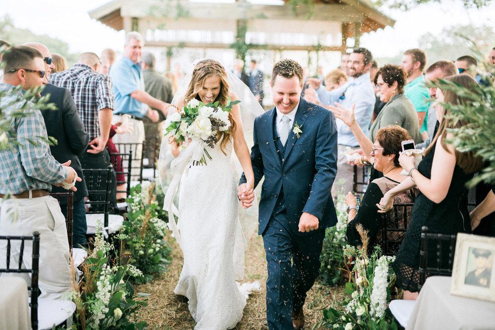 Nature Inspired Alfresco Wedding