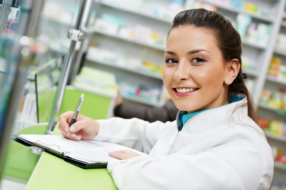 Qualified Pharmacist Working