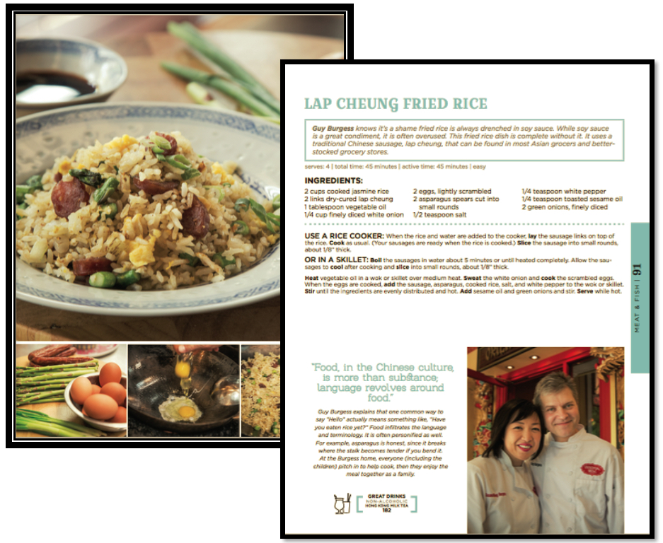 Lap Cheung Fried Rice-Guy Burgess