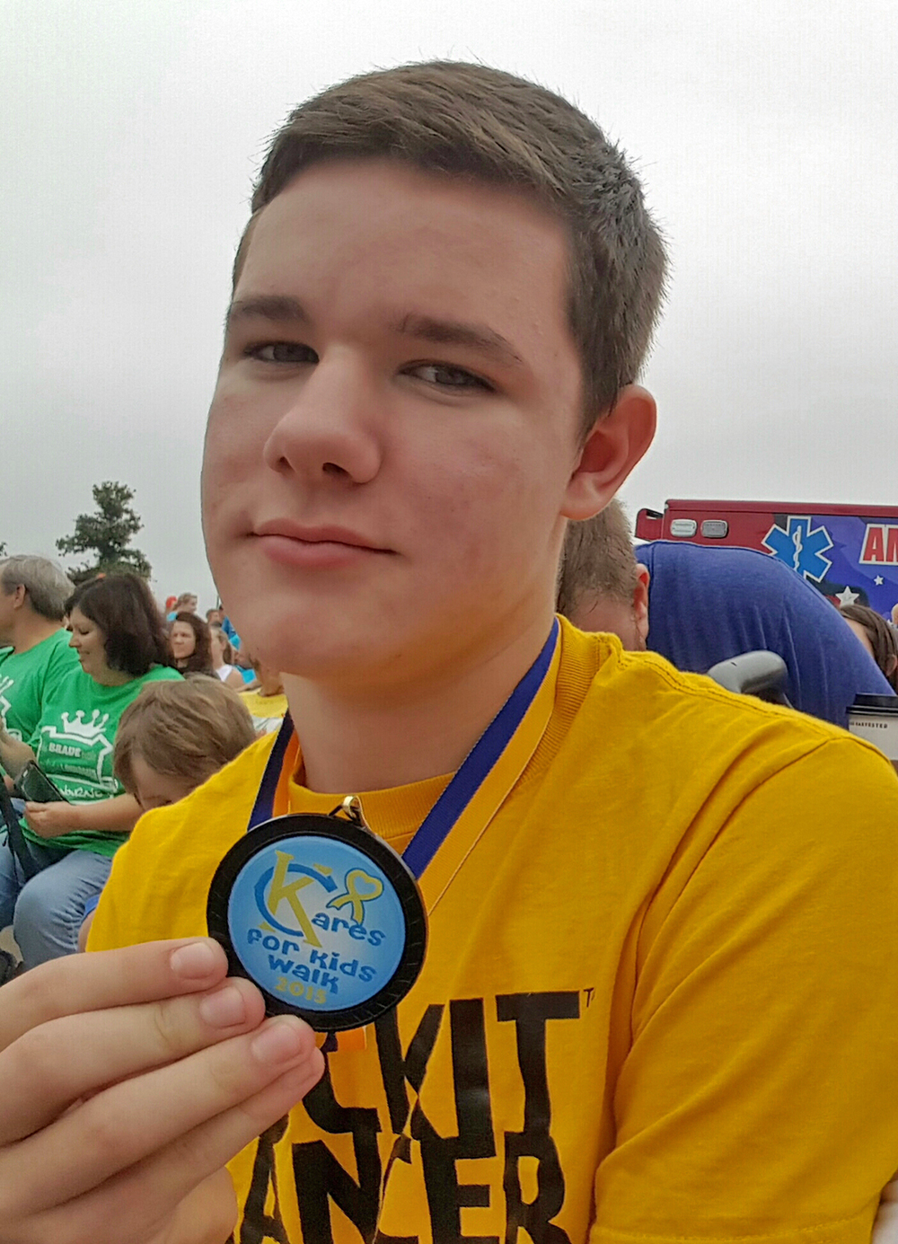 KC Care Kids Walk - September 2015