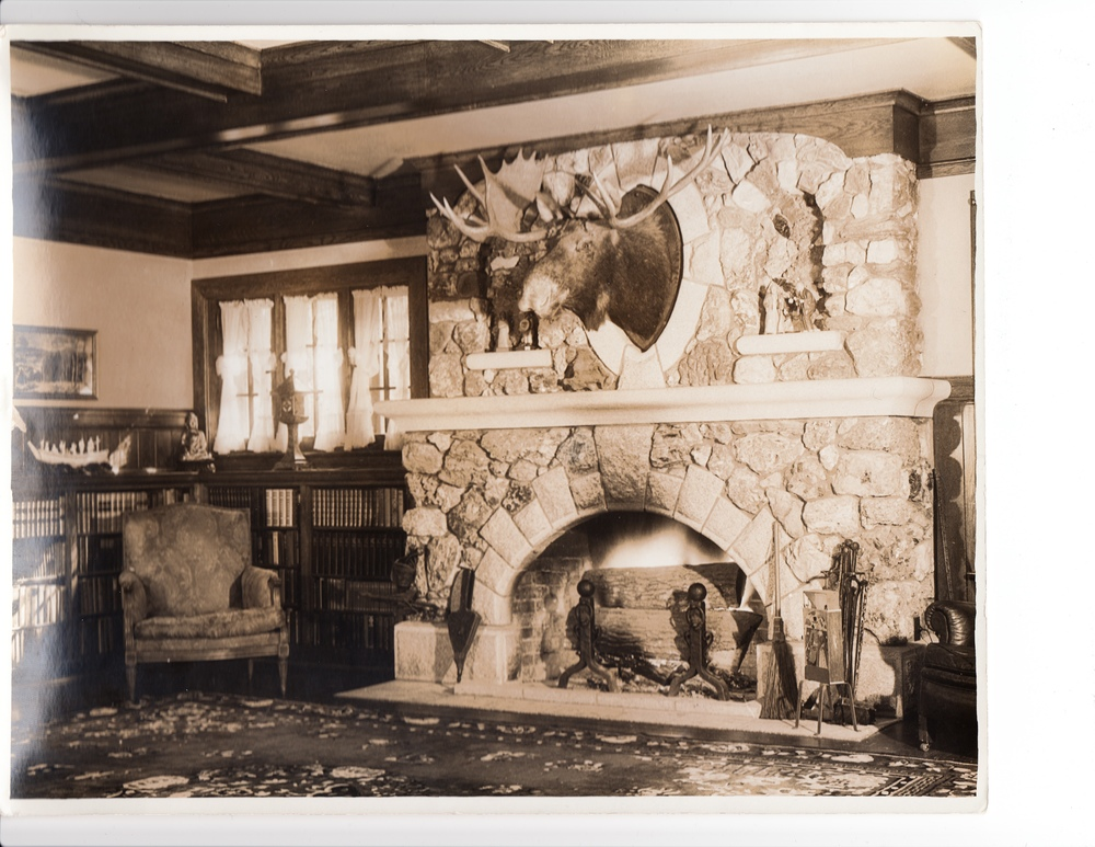 Rockraft lodge great room, c. 1932
